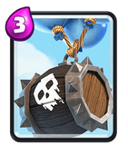 Clash Royale Skeleton Balloon