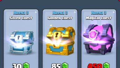 Clash Royale Chests in Shop
