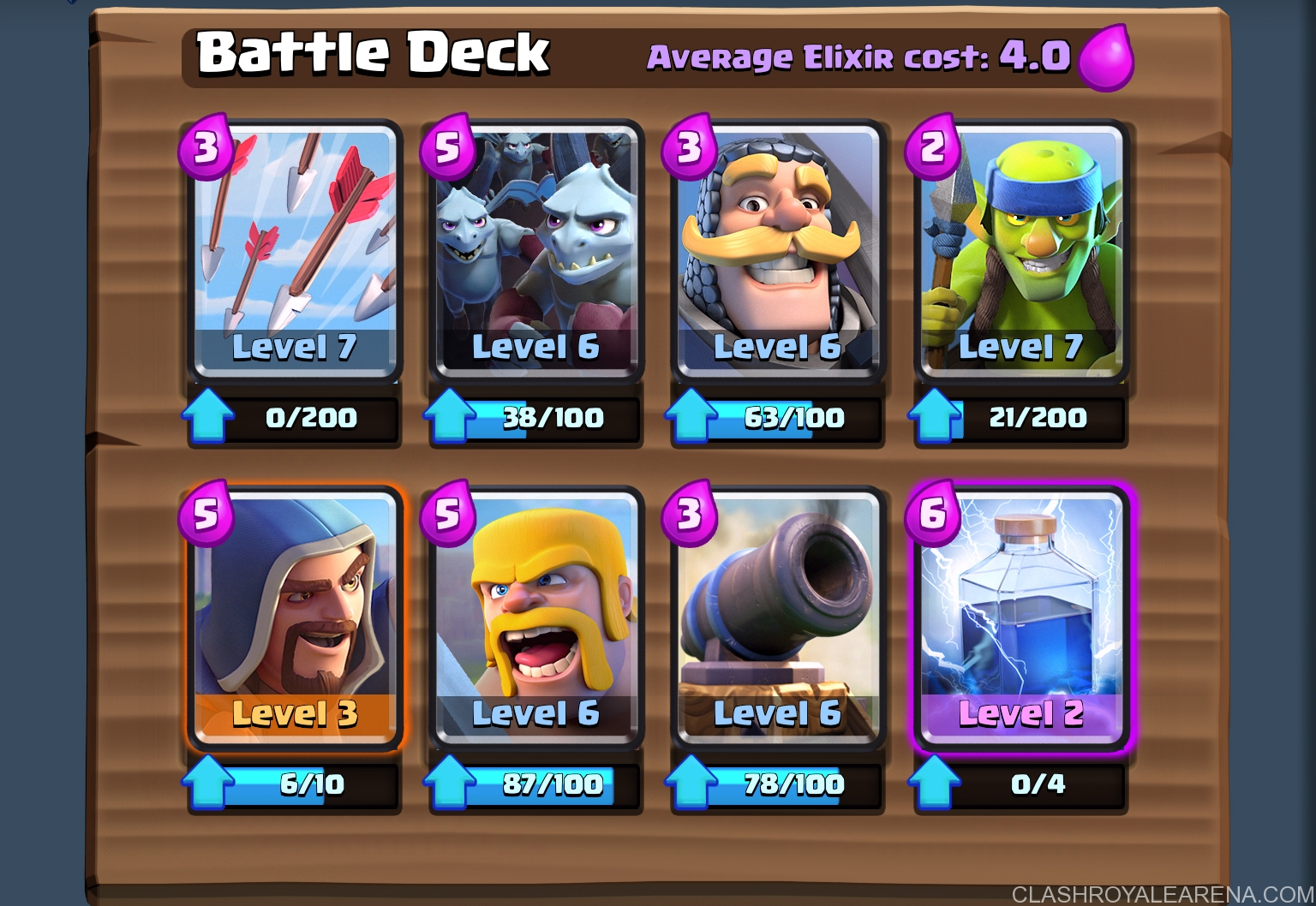 How to push to Arena 6 at level 6 | Clash Royale Guides