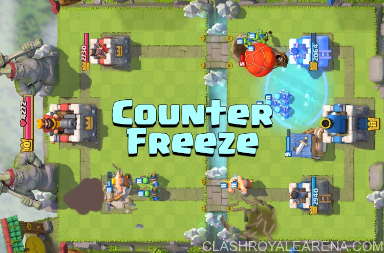 counter freeze spell clash royale
