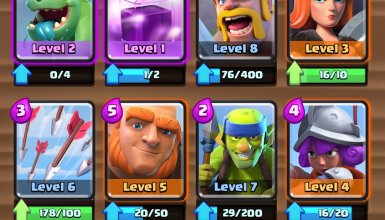 Arena 3 Giant Deck