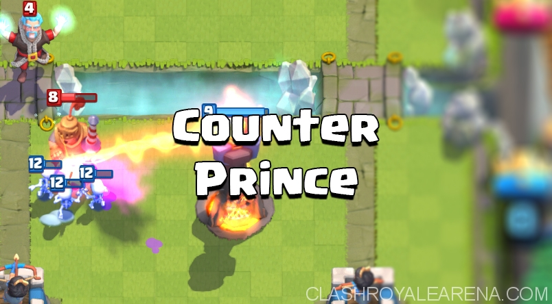 clash royale counter prince
