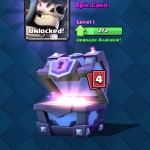 opening super magical chest clash royale 4