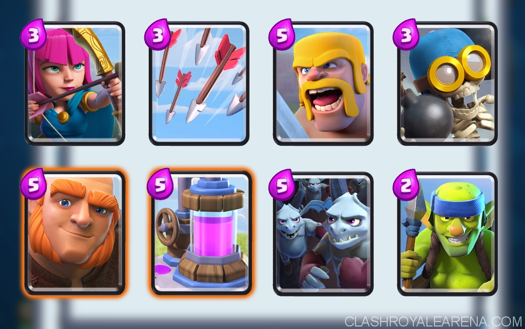 perfect deck for arena 6