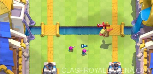Baby Dragon Vs Archers