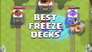 best freeze deck clash royale