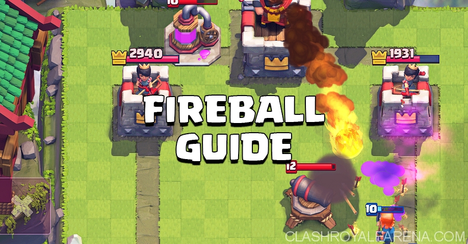 Clash Royale Fireball