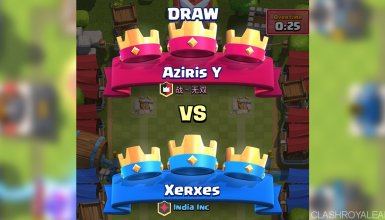 Draw in Clash Royale