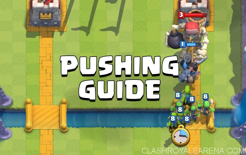 How to Push from Arena 1 to Arena 7