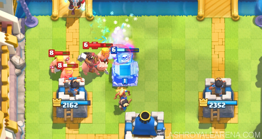 Cannon, Tombstone and Hog Rider