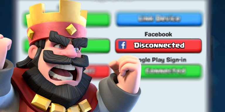 Troubleshooting – Can't Connect Clash Royale with Facebook