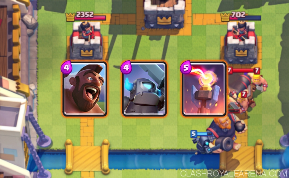 Hog Rider Deck that Counters Royal Giant!