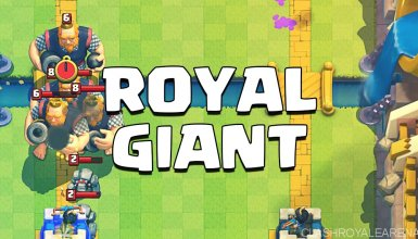 Royal Giant Deck Clash Royale