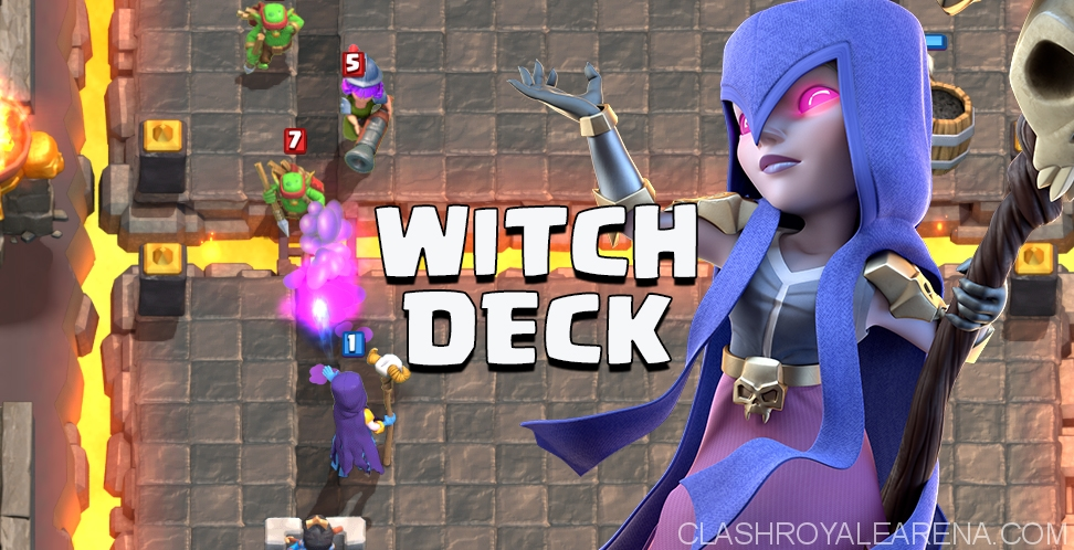 Witch Deck To Get To Arena 4