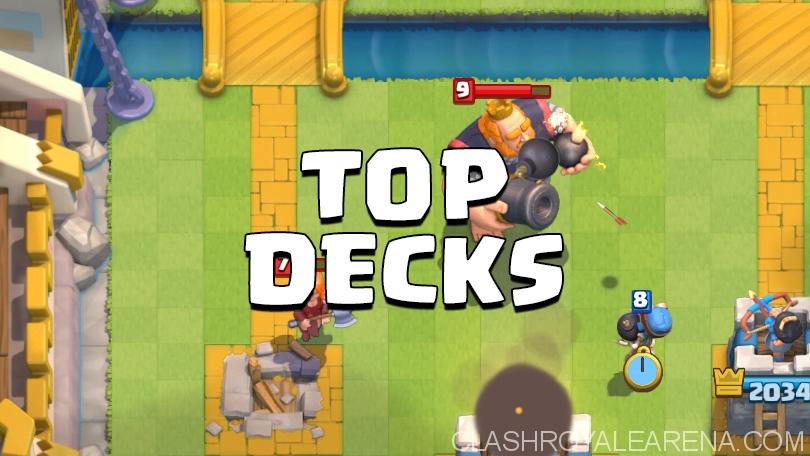Top 3 Arena 7 Decks
