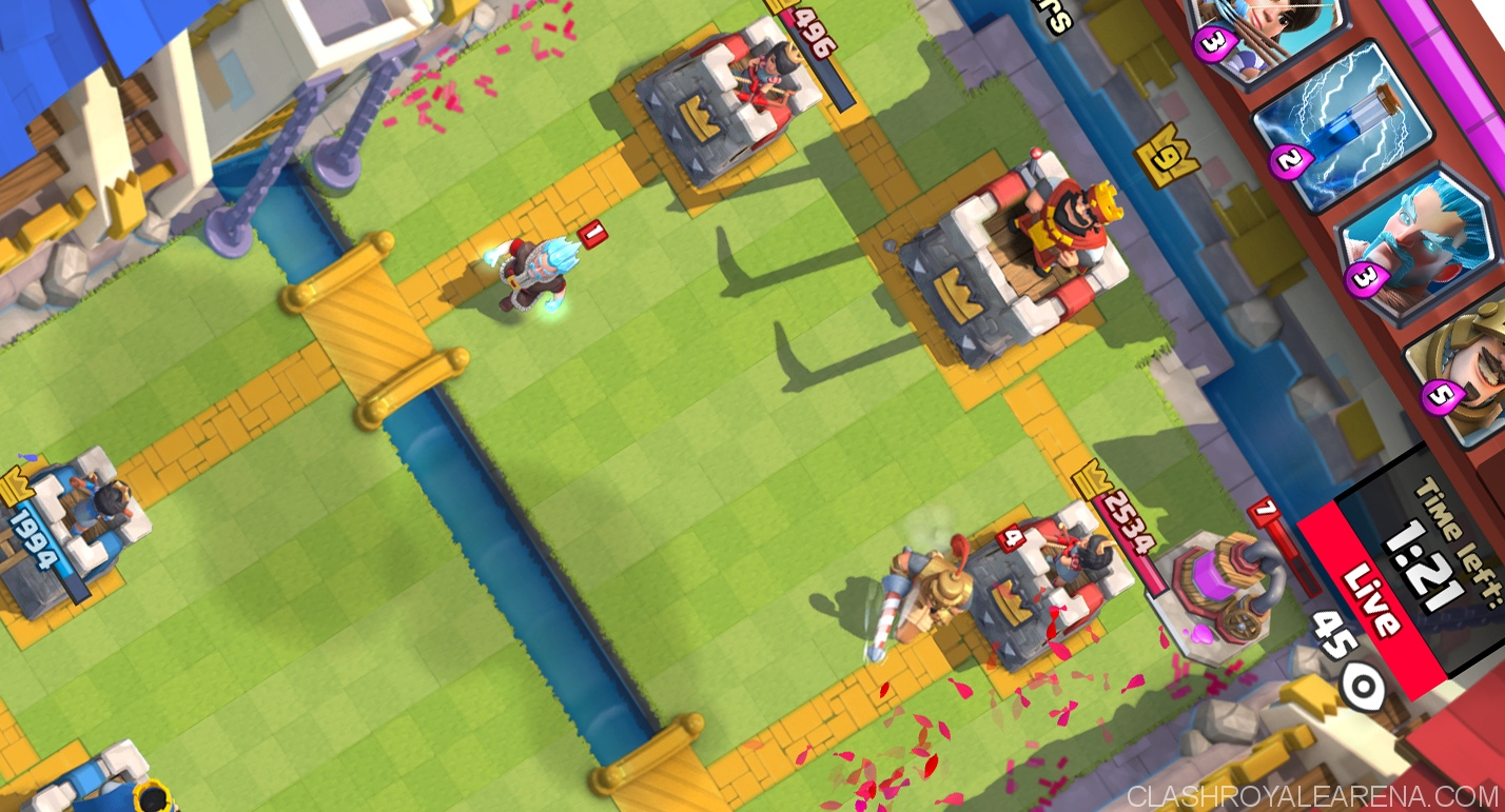clash royale tournament screenshot