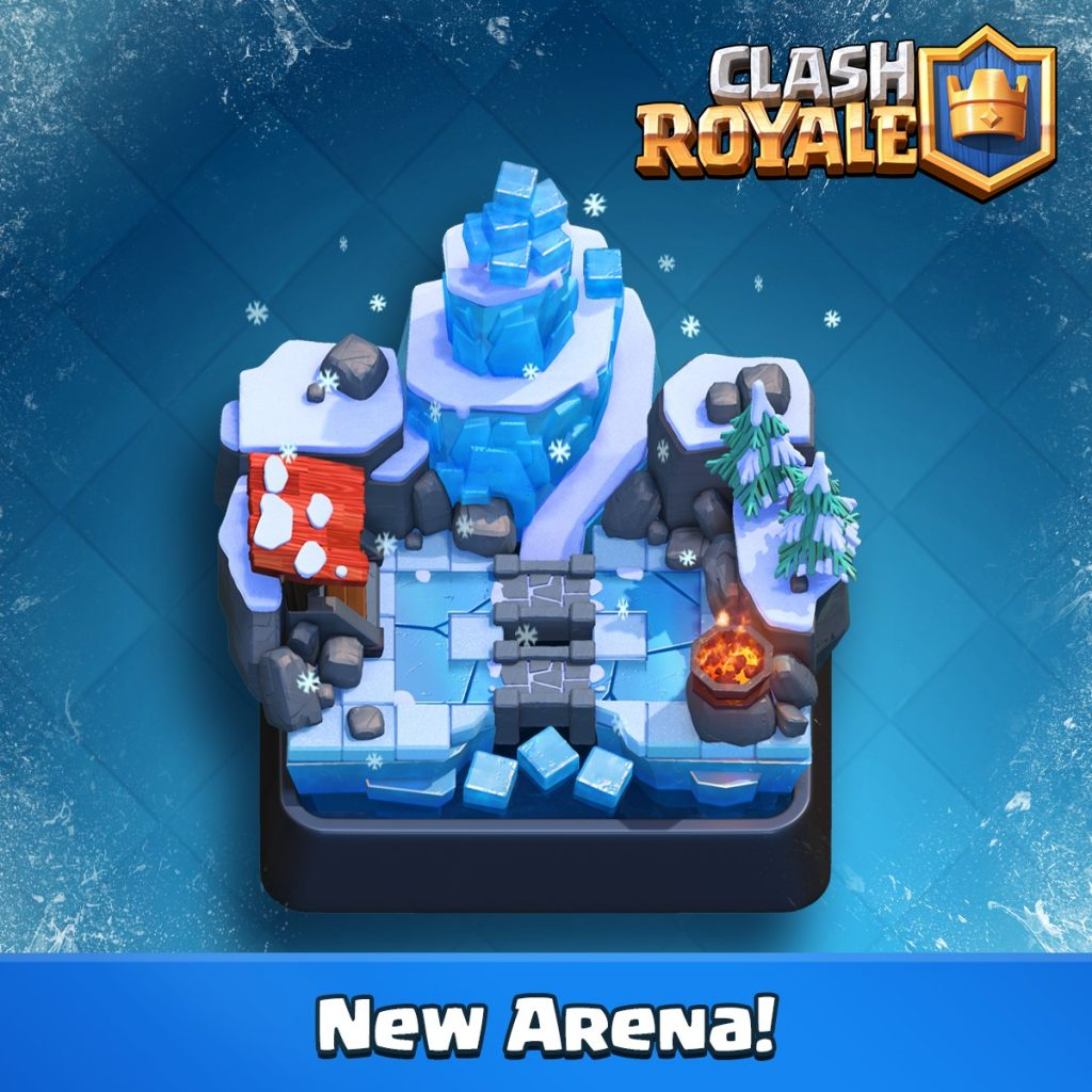 frozen peak clash royale july update