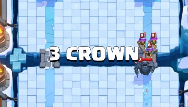 3 crown deck clash royale