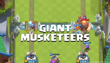 Giant Musketeers