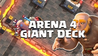 Arena 4 Deck Snowball Giant
