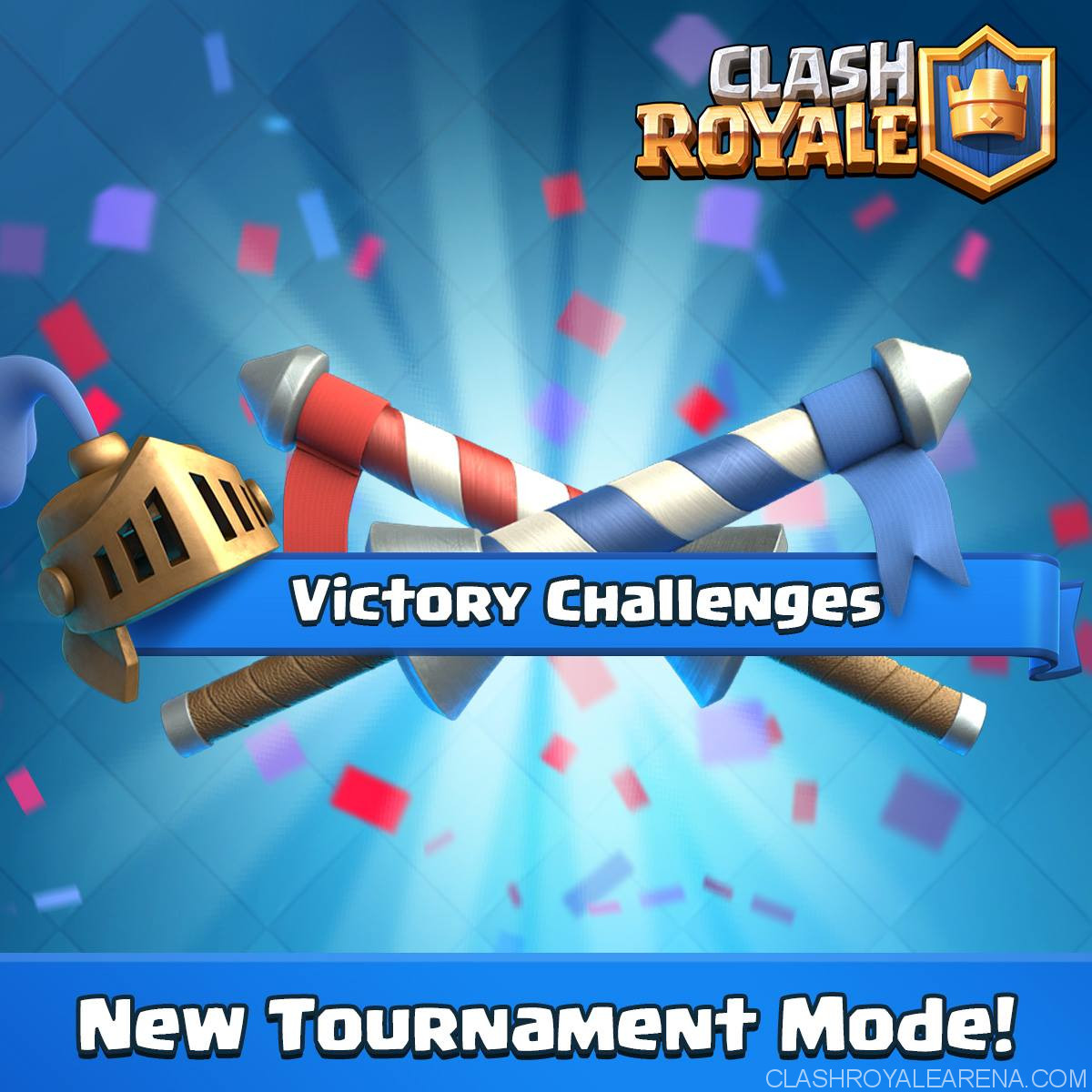 clash royale september update new tournament mode
