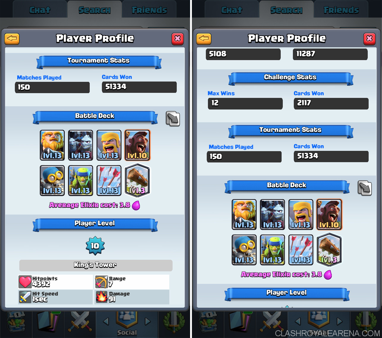 royal giant deck proof