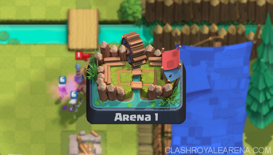 Clash Royale Arena 1