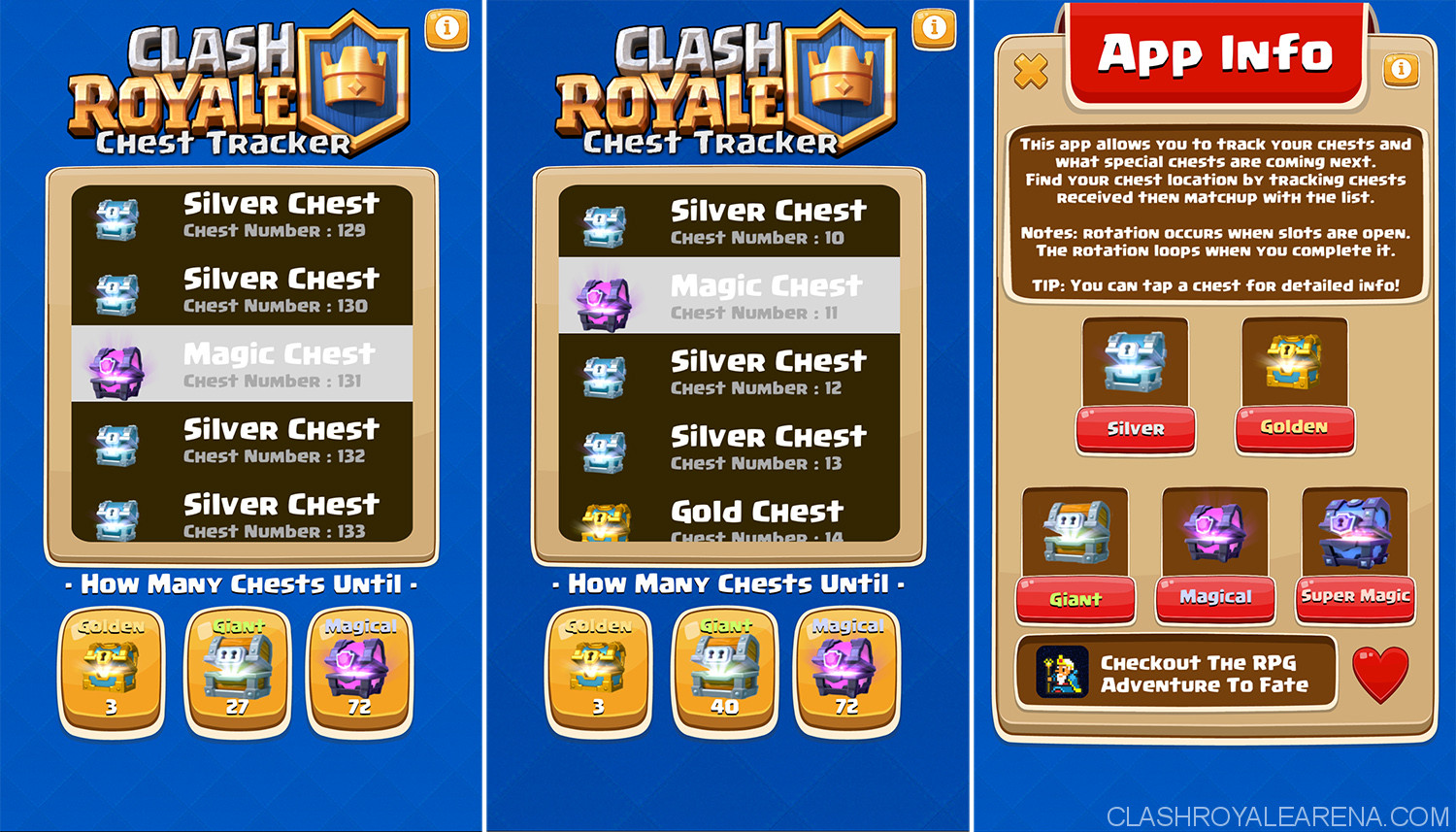 clash royale chest tracker 5