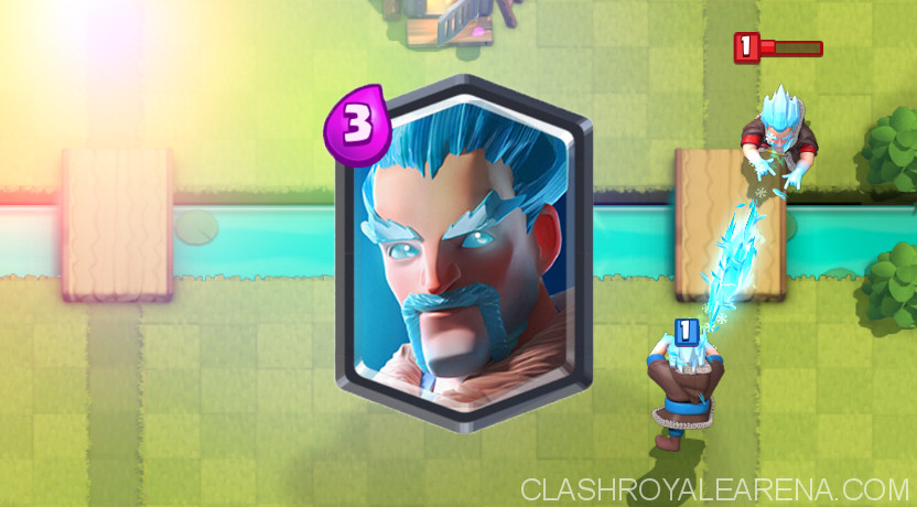 Clash Royale Ice Wizard
