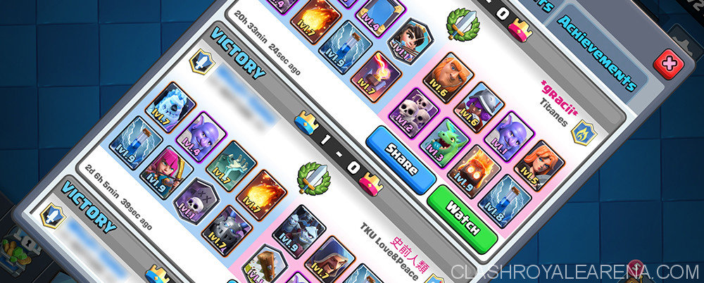 clash royale replay