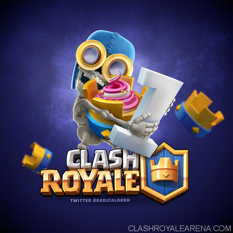 clash royale birthday