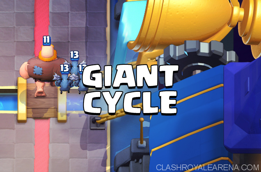 giant cycle deck
