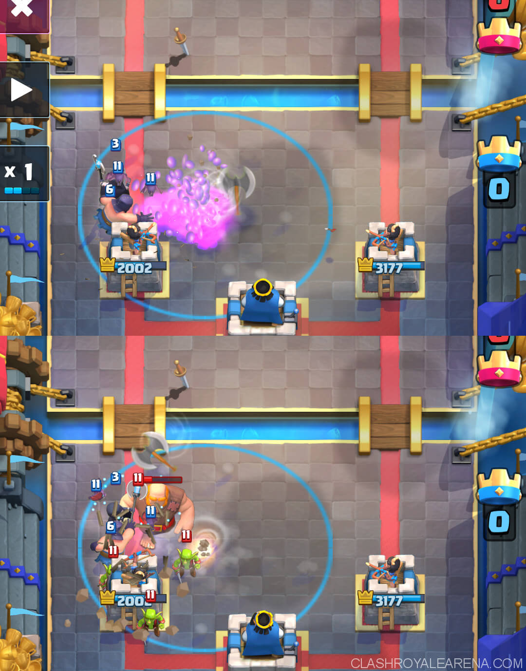 Splashyard V3 0 Kinda Modified Clash Royale Guides