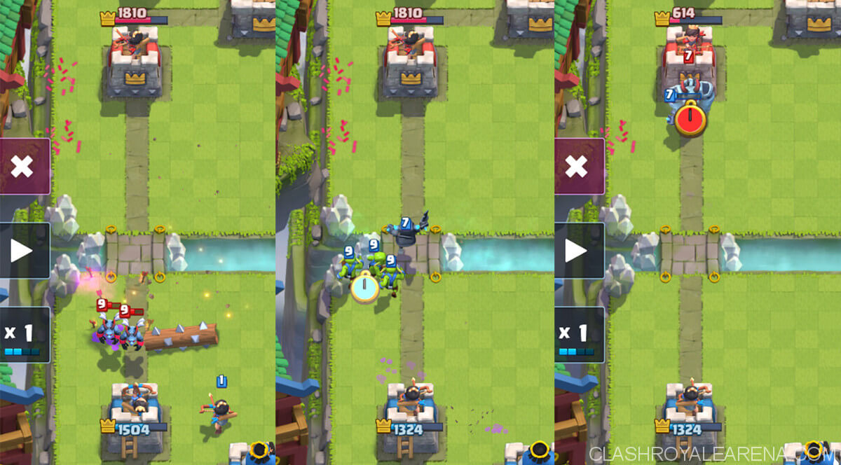 using mini pekka