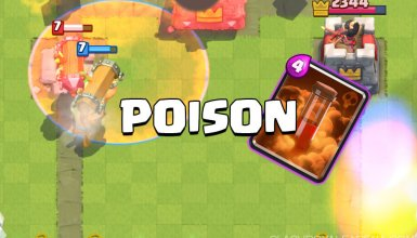 clash royale poison