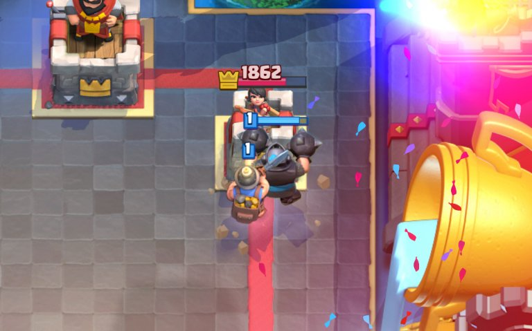 Mega Knight Miner – The Unstoppable Challenge Deck!
