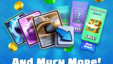 new shop clash royale