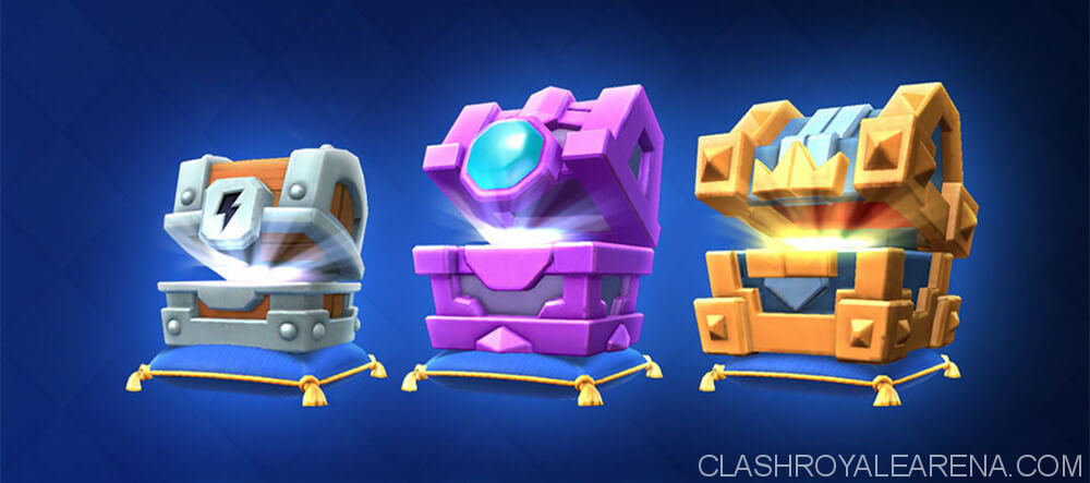 new chests clash royale