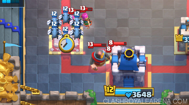 clean up minion horde