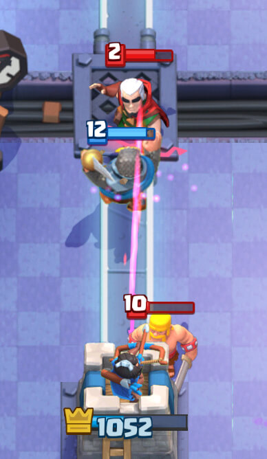 using magic archer