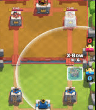 Standard Xbow Placement