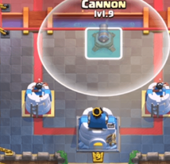 cannon 0-3 placement