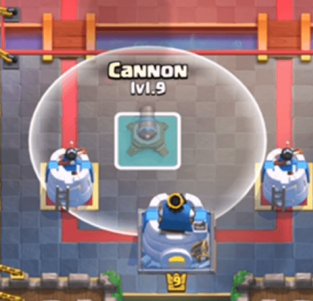 cannon placement 5