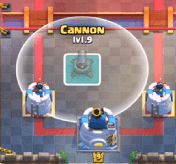 cannon placement 7