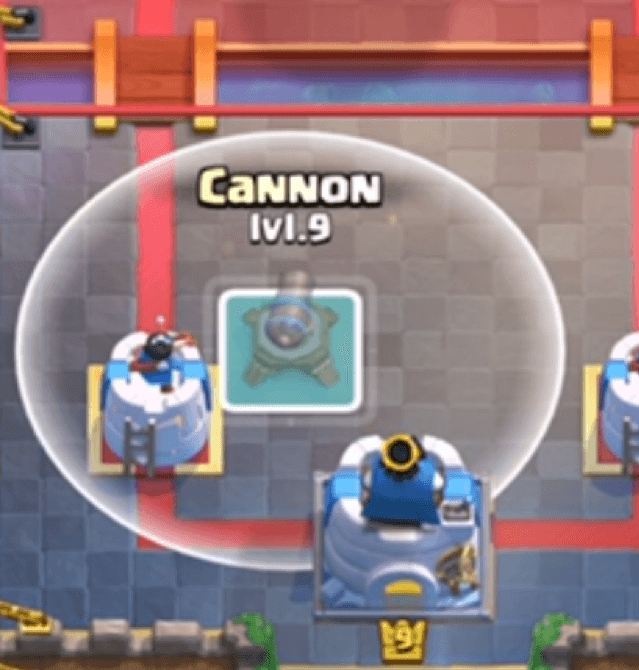 cannon placement 8
