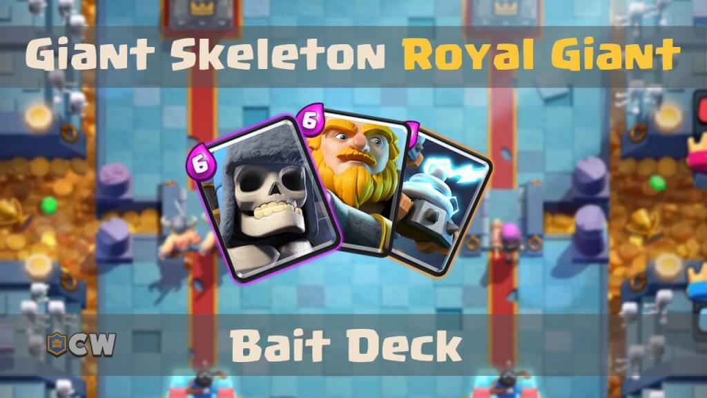 Double giant deck