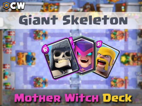 Giant Skeleton Mother Witch Deck | New Meta