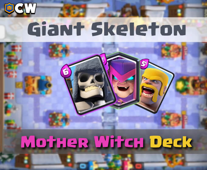 Giant Skel Mother witch