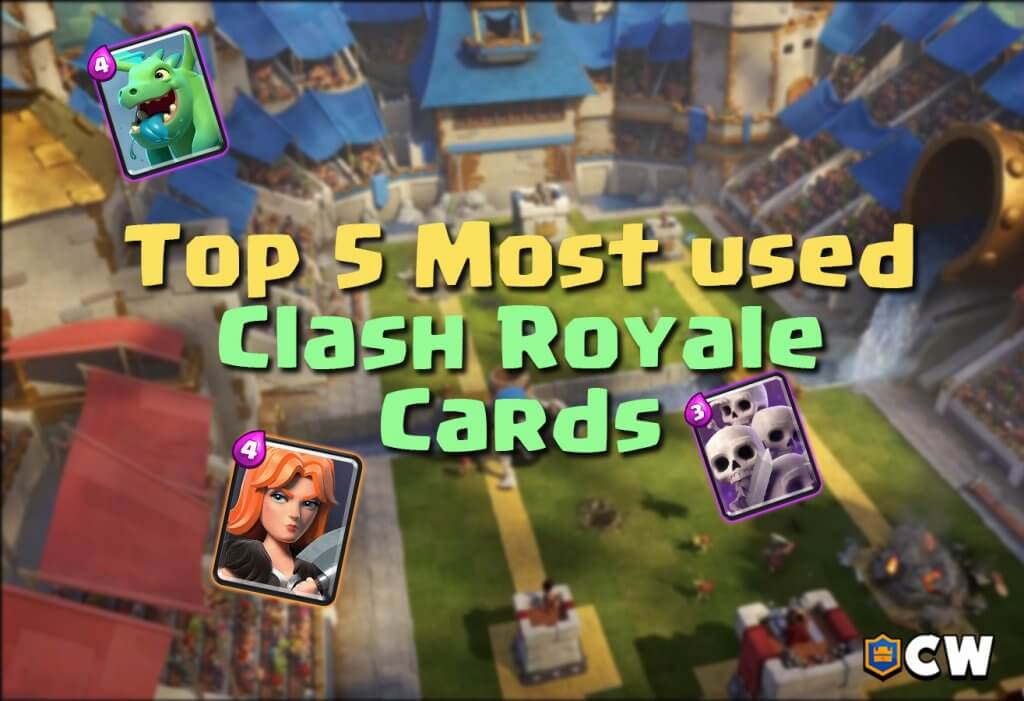 Most used cards