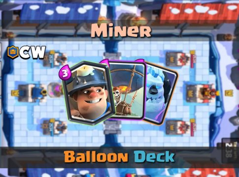 Miner Balloon Cycle | New Deck